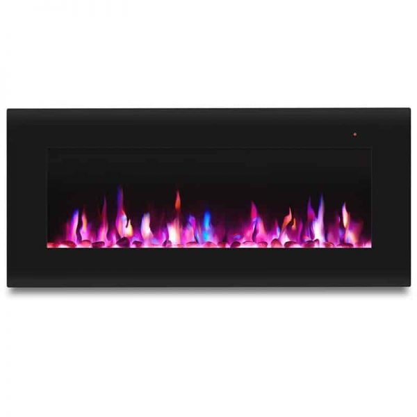 Corretto 40 Inch Electric Wall Hung Fireplace 10