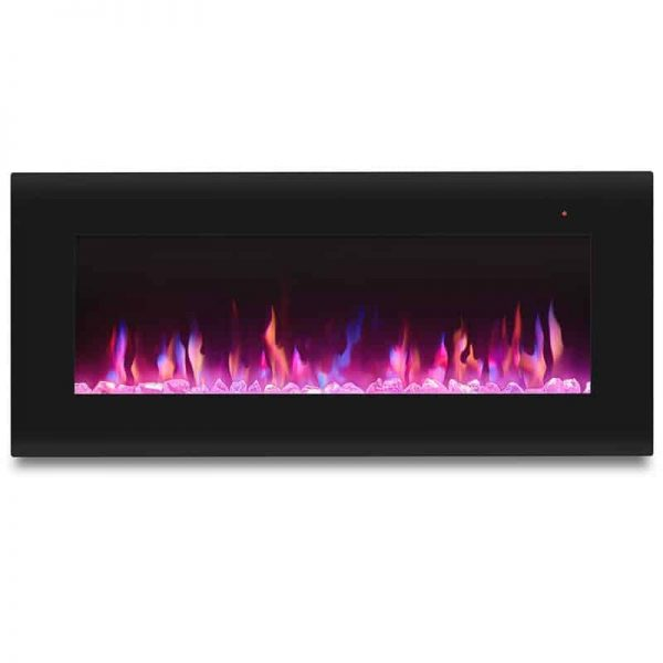 Corretto 40 Inch Electric Wall Hung Fireplace 11