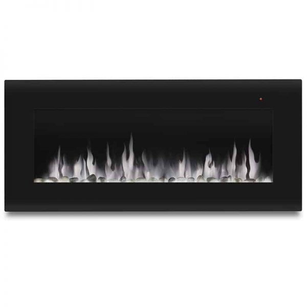 Corretto 40 Inch Electric Wall Hung Fireplace 12