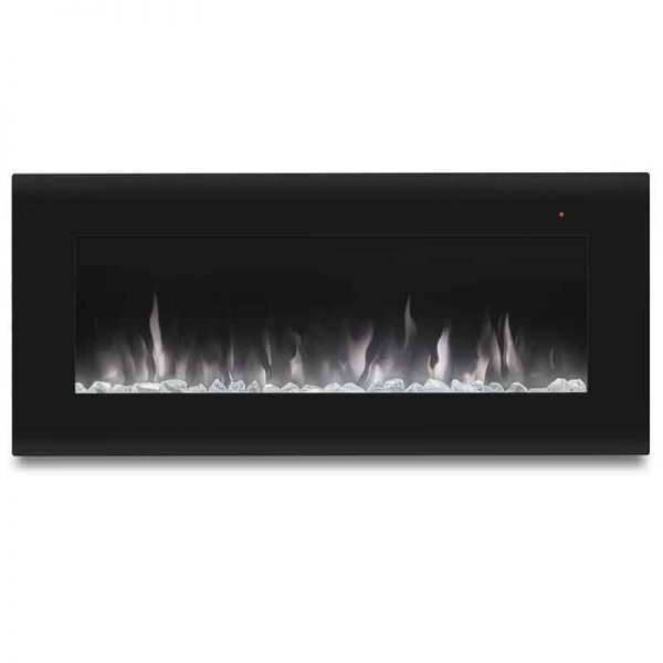 Corretto 40 Inch Electric Wall Hung Fireplace 13