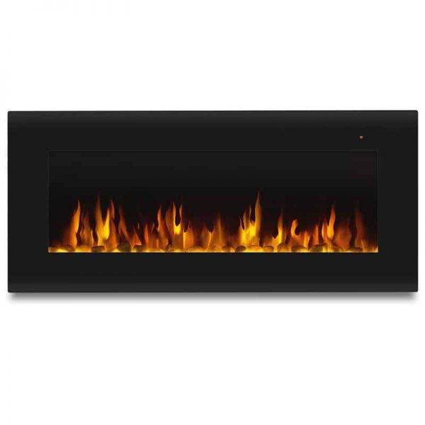 Corretto 40 Inch Electric Wall Hung Fireplace 3