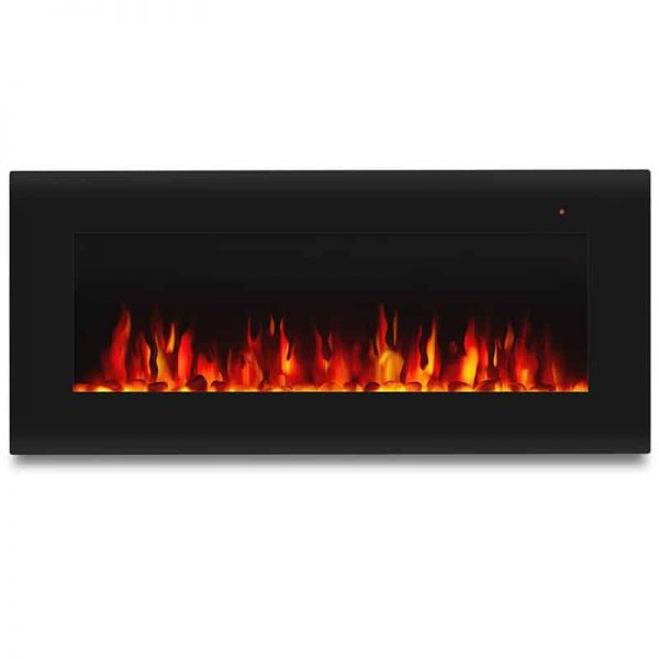 Corretto 40 Inch Electric Wall Hung Fireplace 4