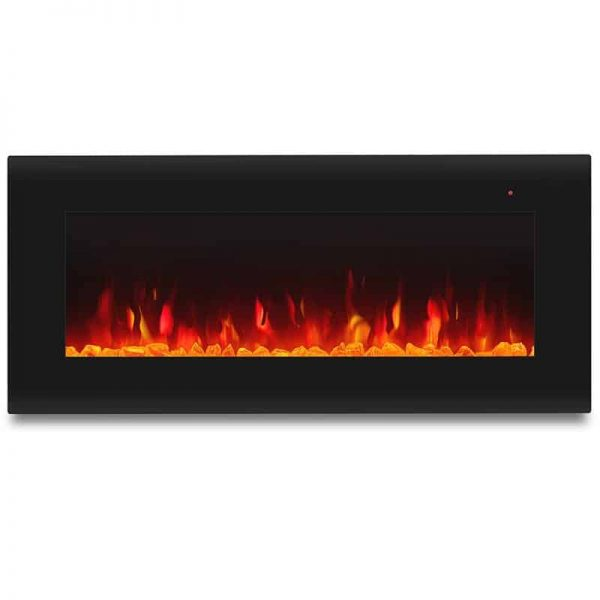 Corretto 40 Inch Electric Wall Hung Fireplace 5