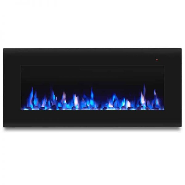 Corretto 40 Inch Electric Wall Hung Fireplace 6