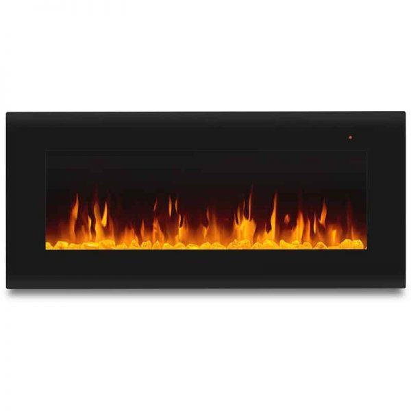 Corretto 40 Inch Electric Wall Hung Fireplace