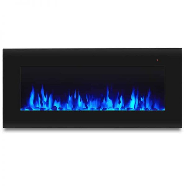Corretto 40 Inch Electric Wall Hung Fireplace 7