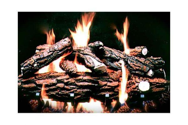 Country Oak Deluxe Fire Log Set (15 in. - 4 log set)