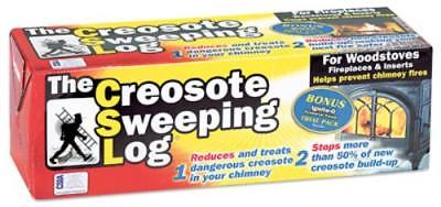 Creosote Sweeping Log Simple Only One