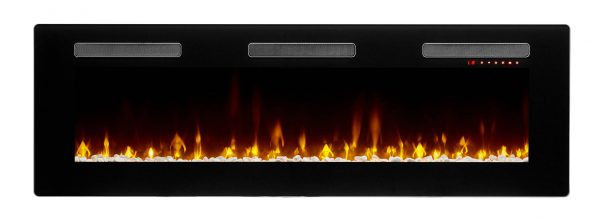 "DIMPLEX Sierra 60"" Wall/Built-In Linear Fireplace"