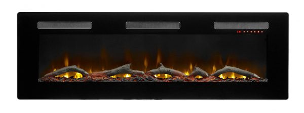 "DIMPLEX Sierra 60"" Wall/Built-In Linear Fireplace 8"