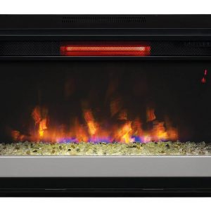 "*DNP*26"" Infrared Quartz Electric Fireplace Insert with Safer Plug"