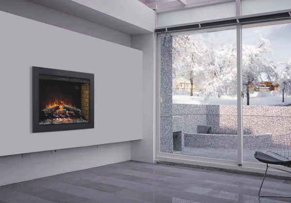"""*DNP*33"""" Flush-Mount Trim Kit for use with In-Wall Electric Fireplace Insert 1"""