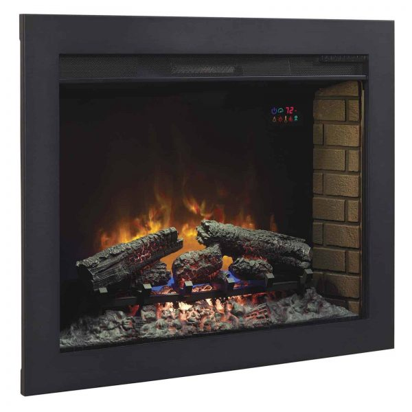 "*DNP*33"" Flush-Mount Trim Kit for use with In-Wall Electric Fireplace Insert"