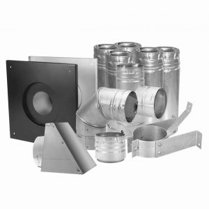 "DURAVENT 3"" PELLET VENT KIT STAINLESS"
