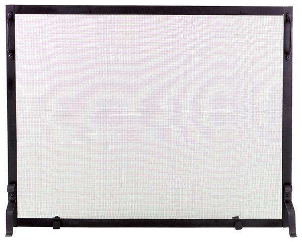 Dagan Black Wrought Iron Fireplace Screen