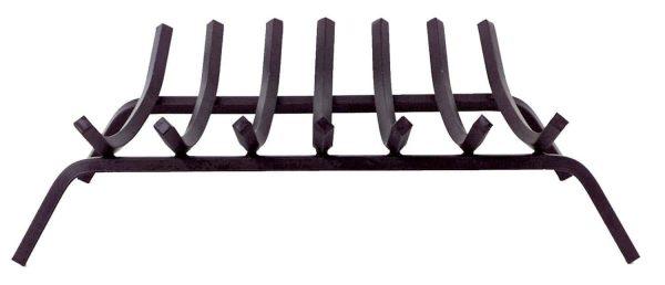 Dagan Eight Bar 3/4-Inch Square Black Steel Grate