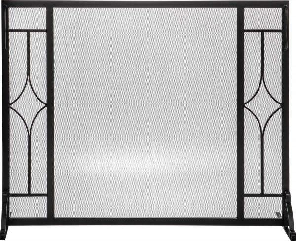 Dagan Fireplace Screen with Diamond Design