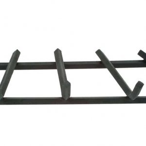 Dagan Four Bar 1/2-Inch Square Steel Grate