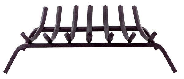 Dagan Seven Bar 3/4-Inch Square Black Steel Grate