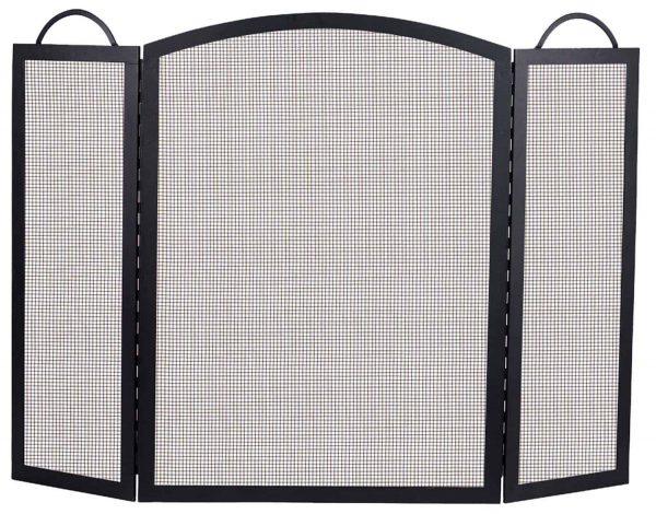 Dagan Three Fold Arched Fireplace Screen