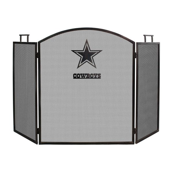 Dallas Cowboys Imperial Fireplace Screen - Brown