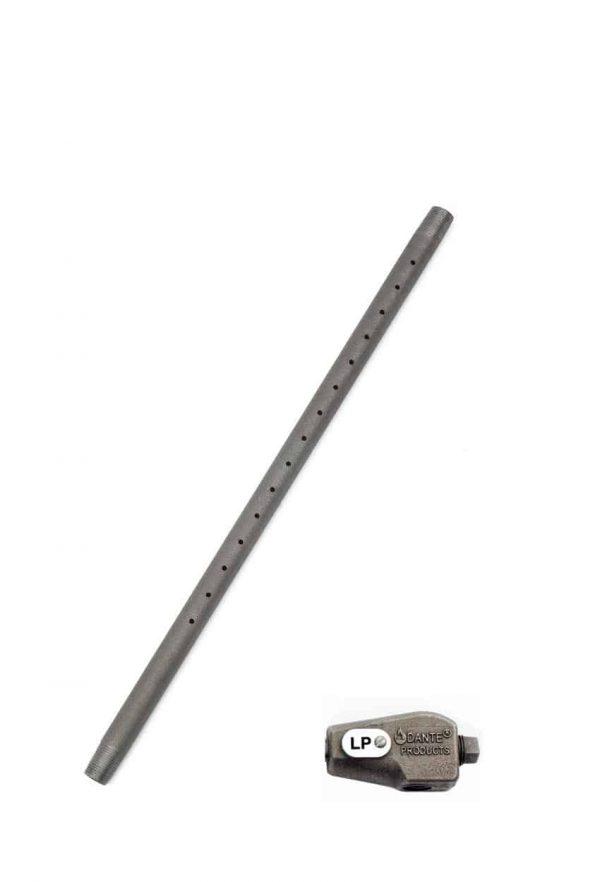 Dante Gas Log Lighter Burner Pipe with Mixer