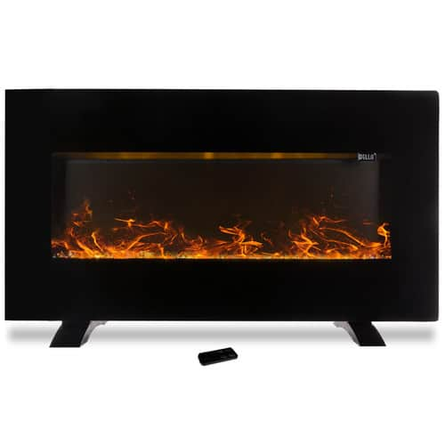 Della Heater Wall Mounted Electric Fireplace 1