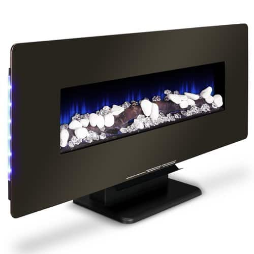Della Heater Wall Mounted Electric Fireplace