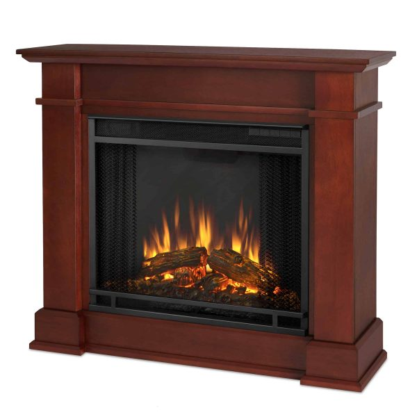 Devin Electric Fireplace in Dark Espresso by Real Flame 2