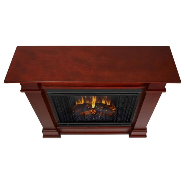 Devin Electric Fireplace in Dark Espresso by Real Flame 4