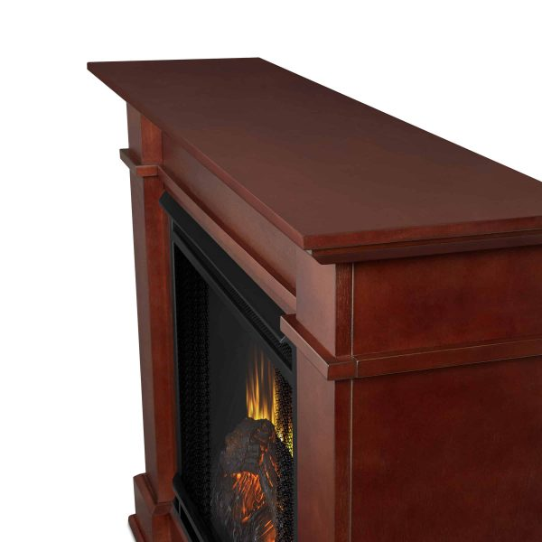 Devin Electric Fireplace in Dark Espresso by Real Flame 5