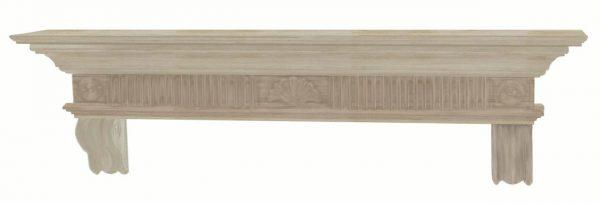 Devonshire 72 inch Mantel Shelf Unfinished