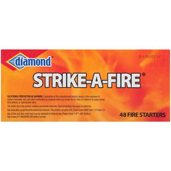 Diamond Strike-A-Fire Fire Starters 48 ct Box 1