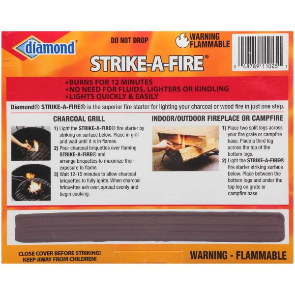 Diamond Strike-A-Fire Fire Starters 48 ct Box 2