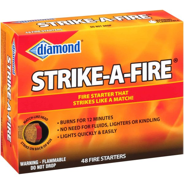 Diamond Strike-A-Fire Fire Starters 48 ct Box 4