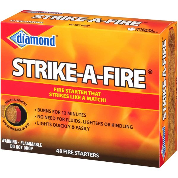 Diamond Strike-A-Fire Fire Starters 48 ct Box 5