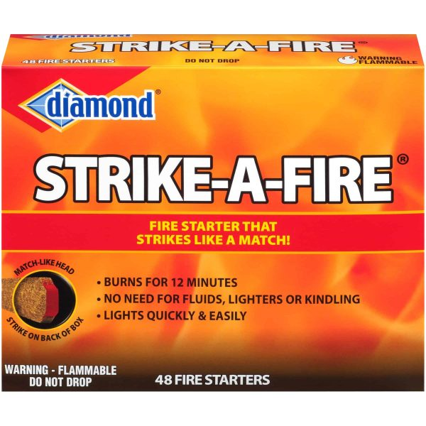 Diamond Strike-A-Fire Fire Starters 48 ct Box