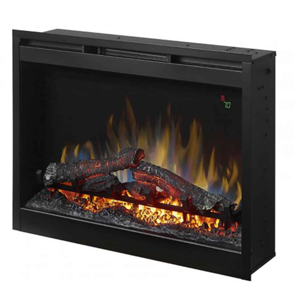 """Dimplex 26"""" Electric Firebox Fireplace Insert With Acrylic Ember Bed 1"""
