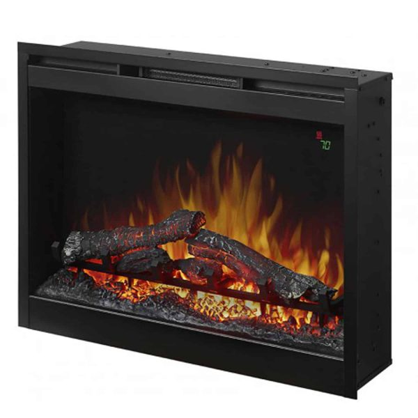 """Dimplex 26"""" Electric Firebox Fireplace Insert With Acrylic Ember Bed 3"""