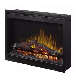 """Dimplex 26"""" Electric Firebox Fireplace Insert With Acrylic Ember Bed"""