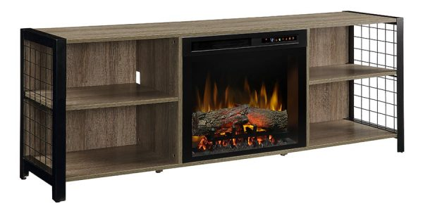 Dimplex Asher Media Console Electric Fireplace 1
