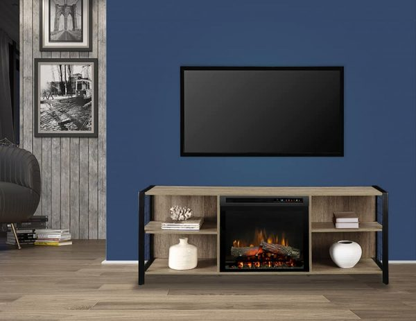 Dimplex Asher Media Console Electric Fireplace 2