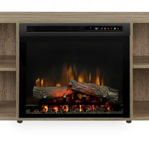 Dimplex Asher Media Console Electric Fireplace