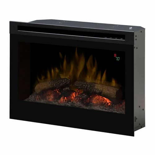 "Dimplex DF2524L 25"" Electric Flame Firebox with On-Screen Display"