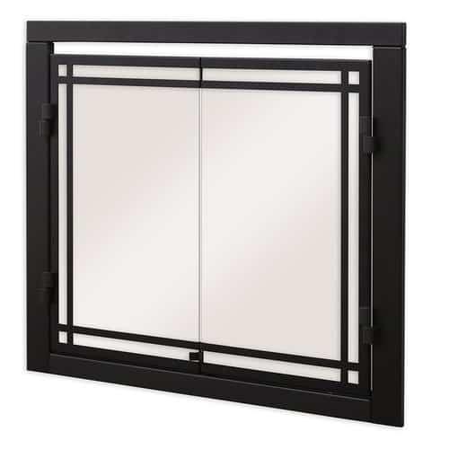 Dimplex Glass Fireplace Screen