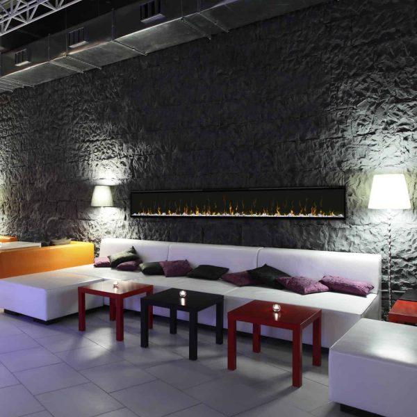 Dimplex IgniteXL 100-Inch Wall Mount Electric Fireplace 2