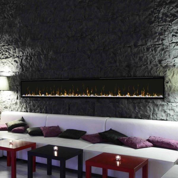 Dimplex IgniteXL 100-Inch Wall Mount Electric Fireplace