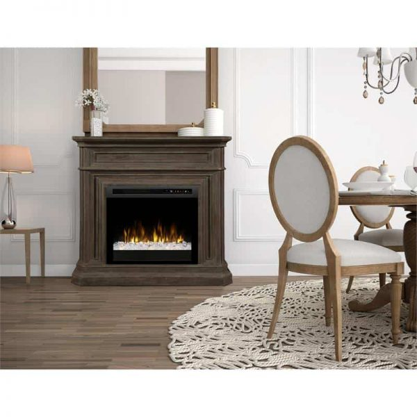 Dimplex Ophelia Mantel Electric Fireplace XHD Series Firebox 1