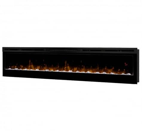 Dimplex Prism Series 74 Inch Wall-Mount Firebox 1