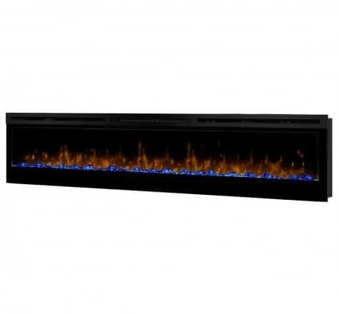 Dimplex Prism Series 74 Inch Wall-Mount Firebox 2